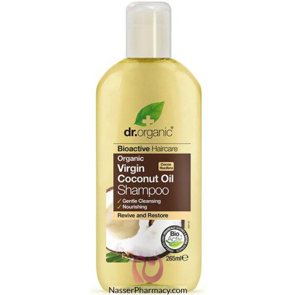 Dr Organic Virgin Coconut Oil Shampoo - 265ml