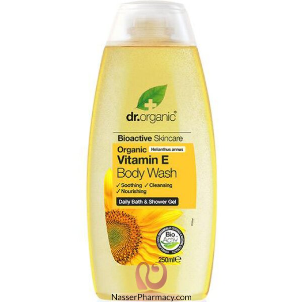 Dr Organic Vitamin E Body Wash - 250ml
