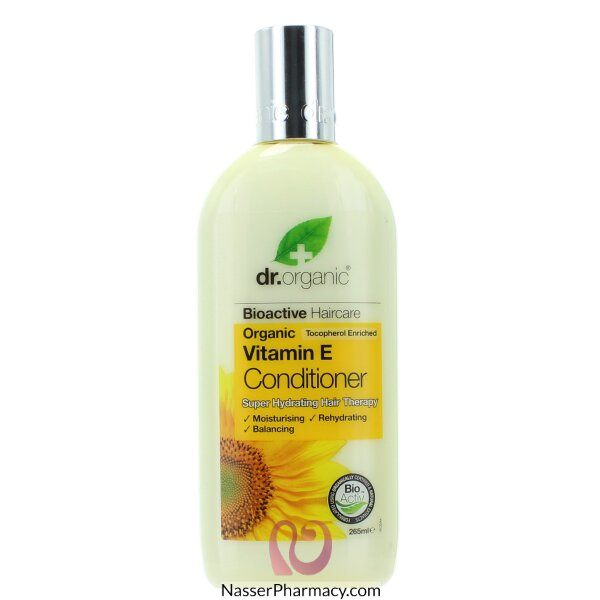 Dr Organic Vitamin E Conditioner - 265ml