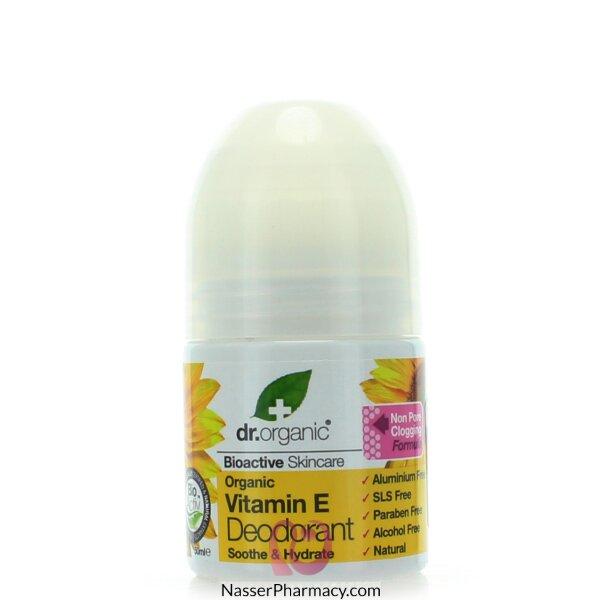 Dr Organic Vitamin E Deodorant - 50ml