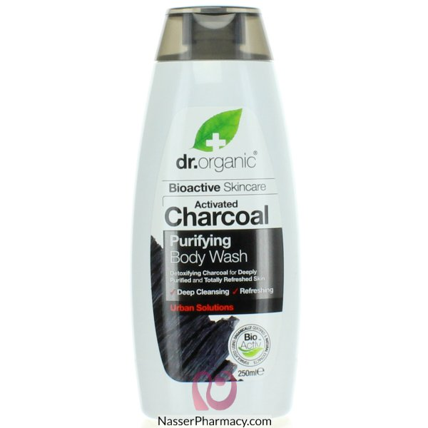 Dr.org Charcoal B/wash  250ml-00548