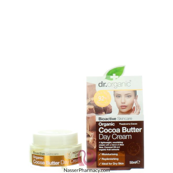 Dr.org Cocoa  Butter  Day  Cream  50ml-00532