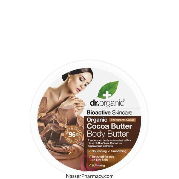 Dr.organic  Cocoa Butter Body Butter 200ml