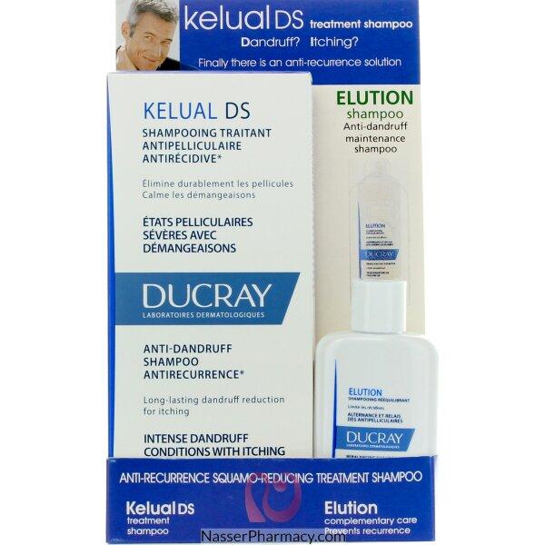 دوكري (ducray Kelual Ds) شامبو مضاد للقشرة - 100 مل