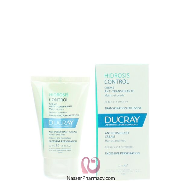 Ducray Hidrosis Antiperspirant Cream Hands And Feet 50ml