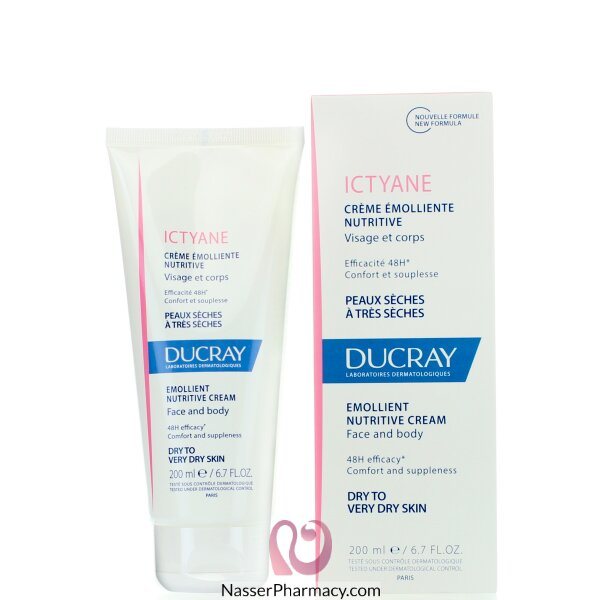 Ducray Ictyan Cream 200ml