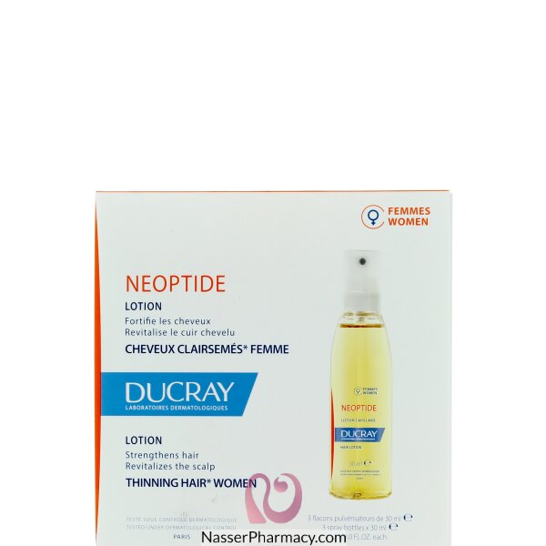 Ducray Neoptide For Women Lotion (spray) 3x30 Ml