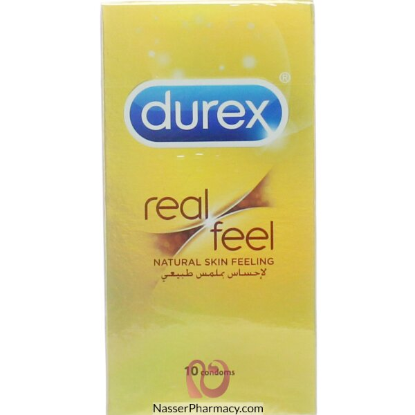 ديوركس Durex واقيات ذكرية لاحساس طبيعي، 10 قطع