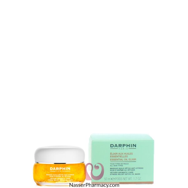 Darphin  Vetiver Oil Mask  Stress Relief Detox  50ml