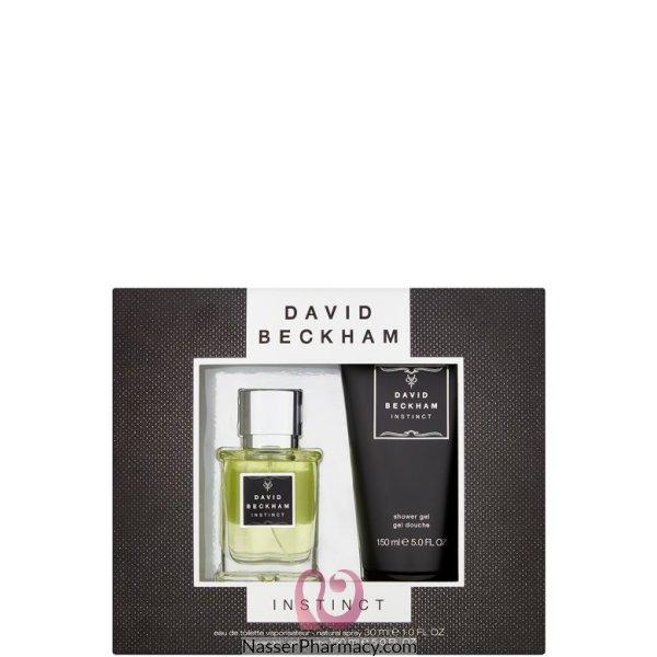 ديفيد بيكهام David Beckham  انستينكت طفم هدية للرجال (عطر 30مل + جل استحمام 150 مل)