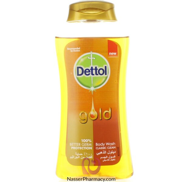 Dettol Body Wash Gold Classic Clean 250ml