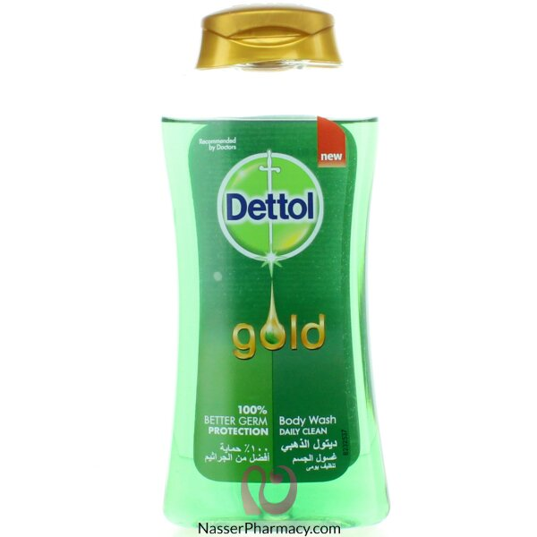 Dettol Body Wash Gold Daily Clean 250ml