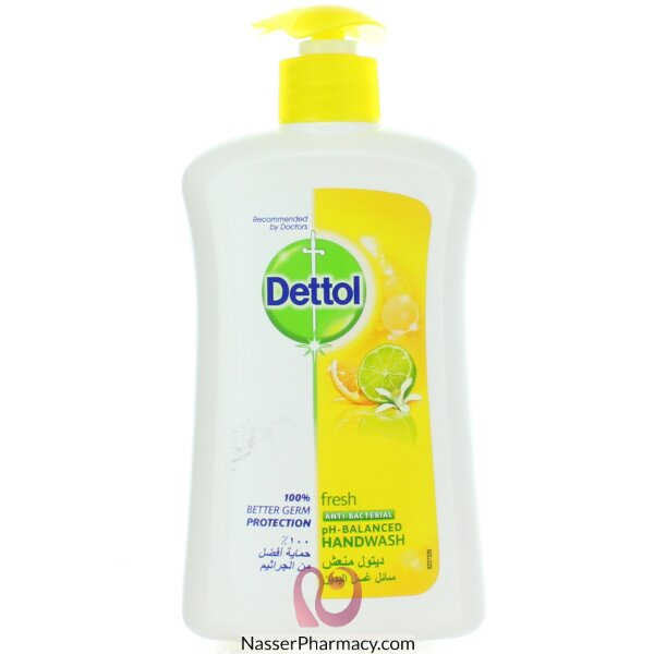 Dettol H/wash Fresh 400ml