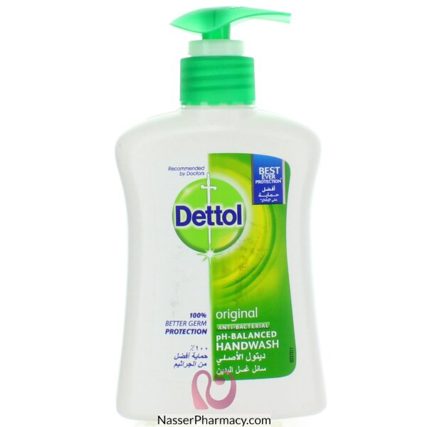 Dettol H/wash Org 200ml