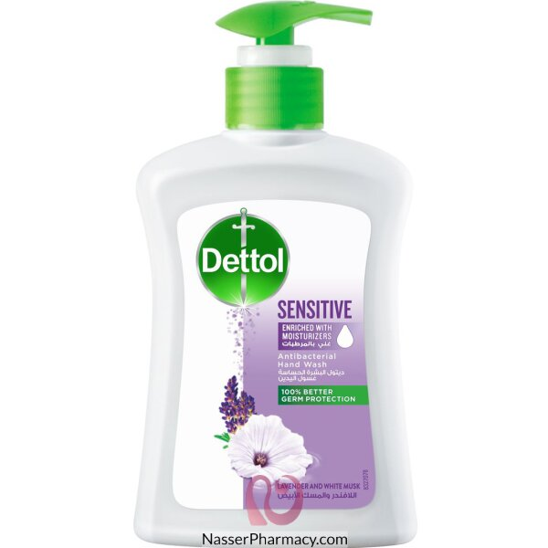 Dettol H/wash Sensitive 500 Ml