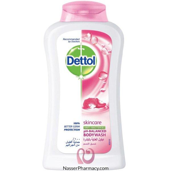 Dettol Shwr Gel Skin Care W.puff 250ml