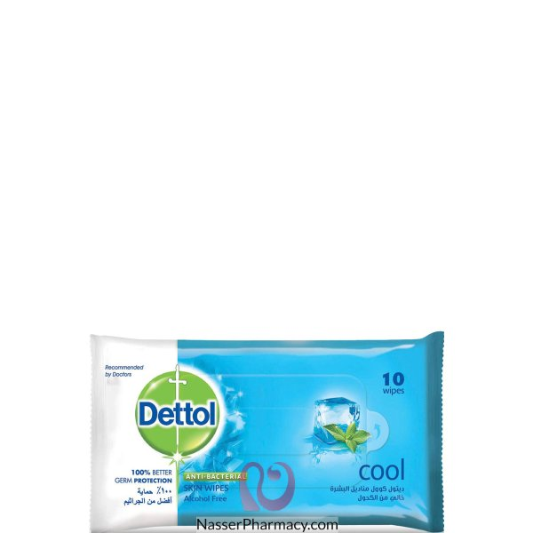 Dettol Wipes Cool 10's 24*10's