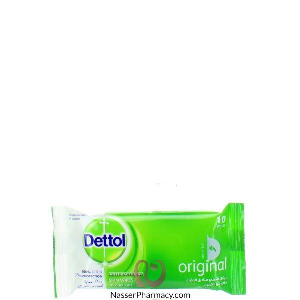 Dettol Wipes Original 10's