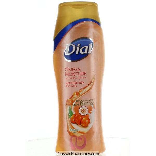 Dial Body Wash Omega Moisture 473ml