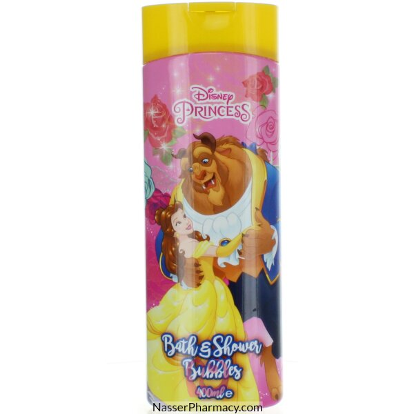 Disney Princess Bath & Shower Bubbles 400ml-51840