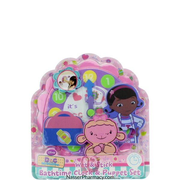 Doc Mcstuffins B/time Clock & Puppet Set 0-55562