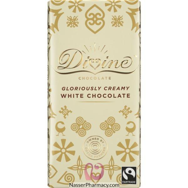 Divine Chocolate White Chocolate 100g
