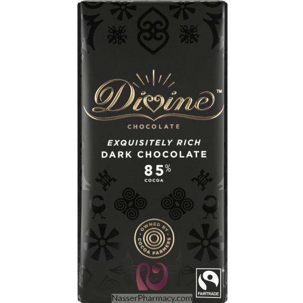 Divine Dark Chocolate 85% Cocoa 100g