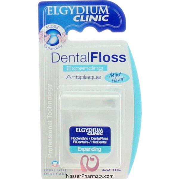 الجيديوم Elgdium - خيط أسنان طبي قابل للتمدد مضاد للبليك 25م