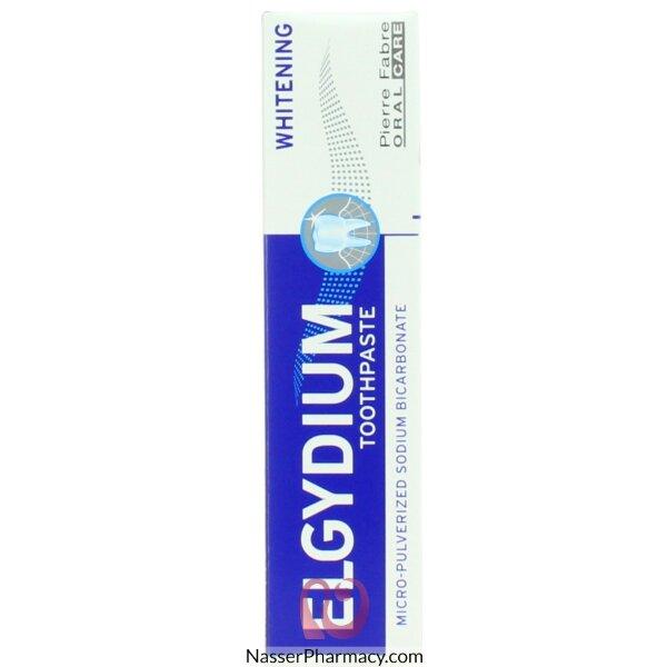Elgydium Whitening(bicarbonate) Tooth Paste  75ml