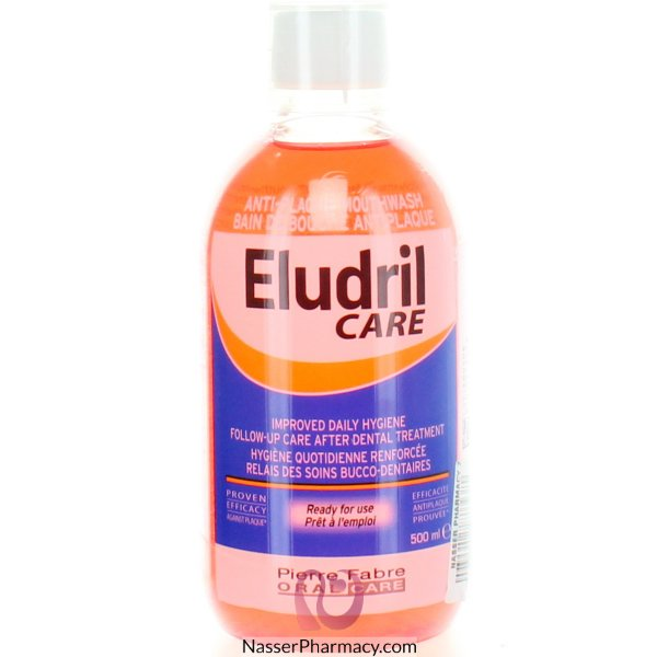 Eludril Care Mouthwash 500ml