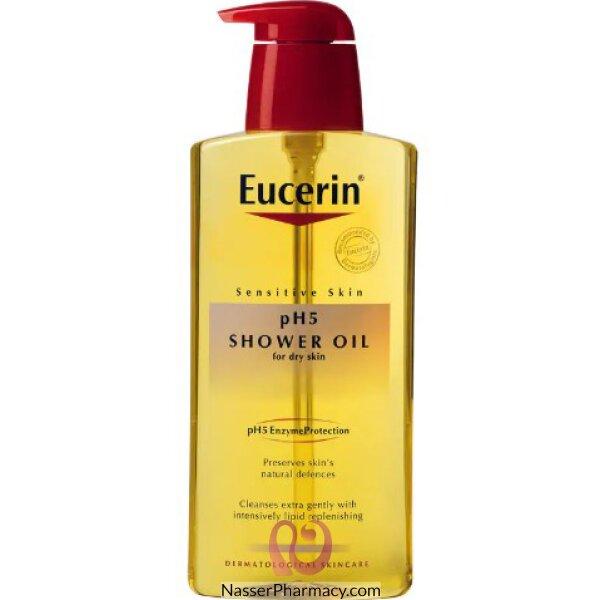 يوسيرين Eucerin  زيت الاستحمام بي اتش5 400 مل