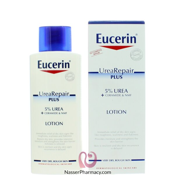 يوسيرين Eucerin  لوشن للجسم 5% يوريا 250 مل
