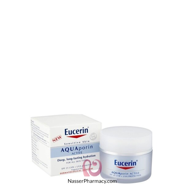 Eucerin Aquaporin Active Hydration Cream Spf25 50ml