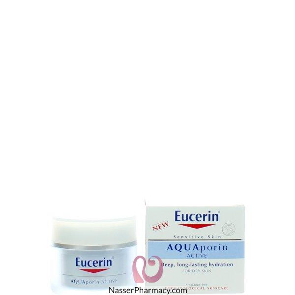 Eucerin Aquaporin Actv Dry Skin Hydrn Crm 50 Ml