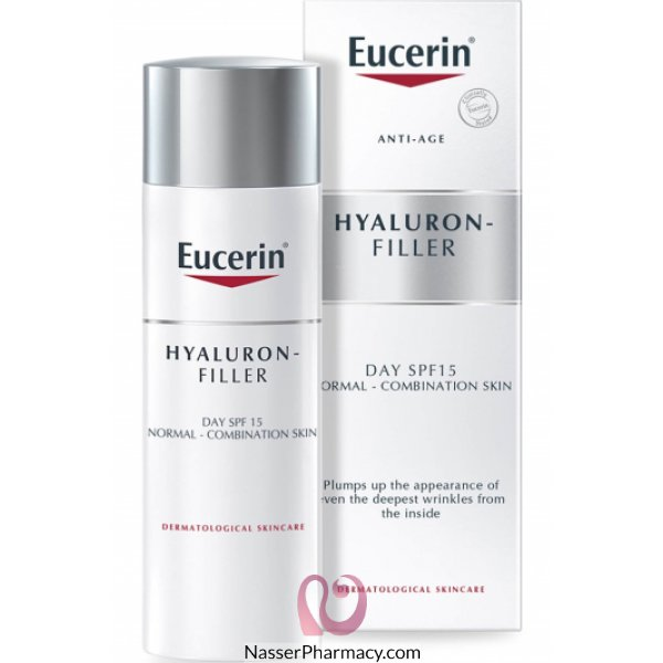 Eucerin Hyaluron Day Filler Treatment Cream 50 Ml