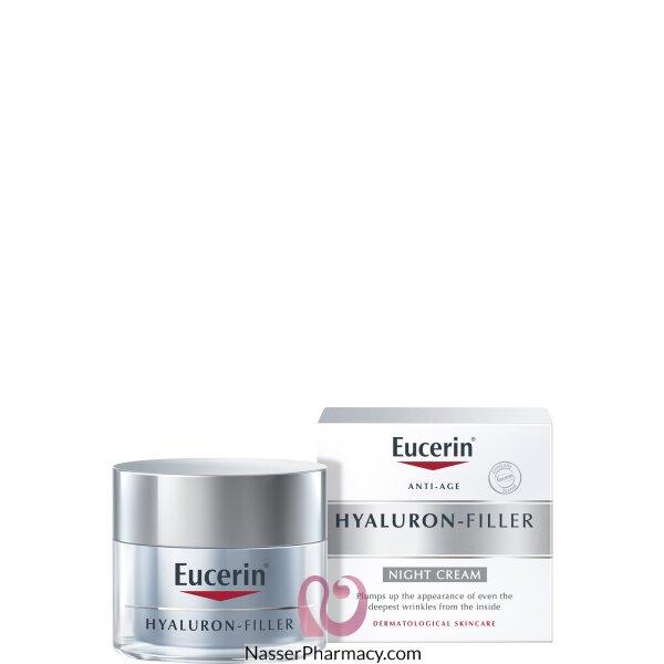 Eucerin Hyaluron Night Filler Treatment Cream 50ml