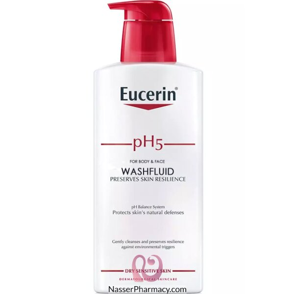 eucerin skin protection wash lotion