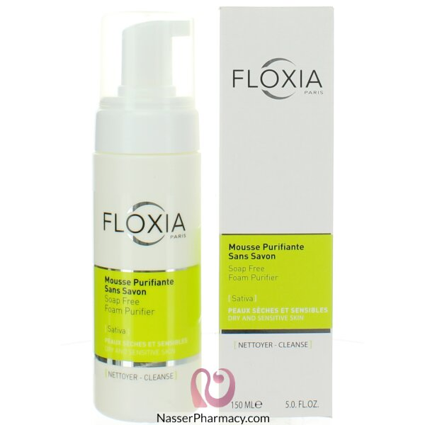Floxia Soap Free Foam Purifier 150 Ml