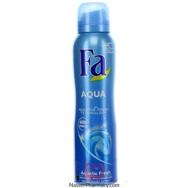 فا اكوا Fa Aqua  سبراي مزيل العرق للنساء 150 مل