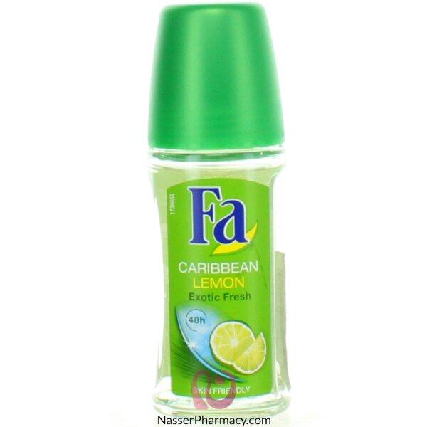 Fa Deodorant Roll On Caribean Lime 50ml