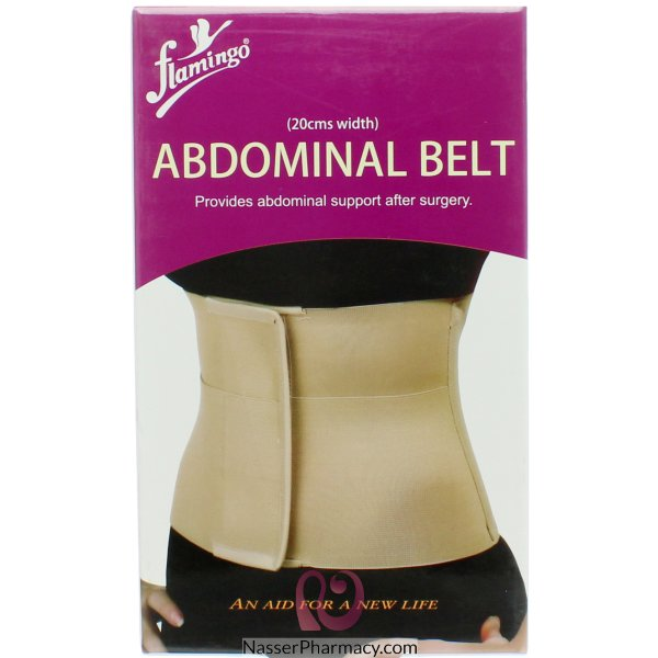 Flam Abdominal Belt 20 Cm- Medium