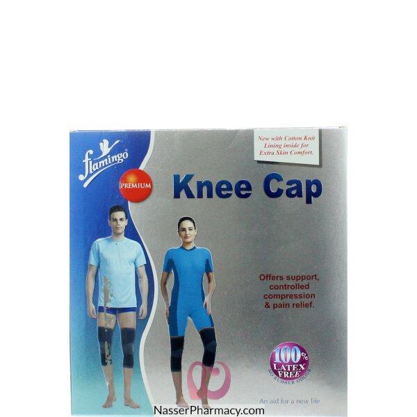 Flamingo Premium Knee Cap (pair)-meduim