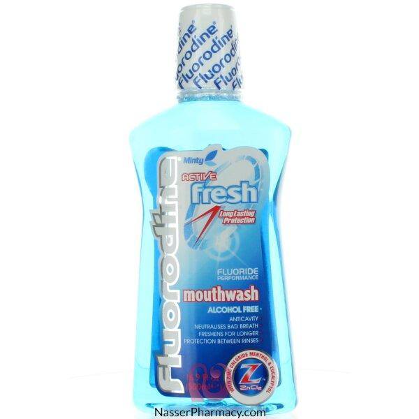 Fluorodine Mouth Wash Active Fresh 500ml