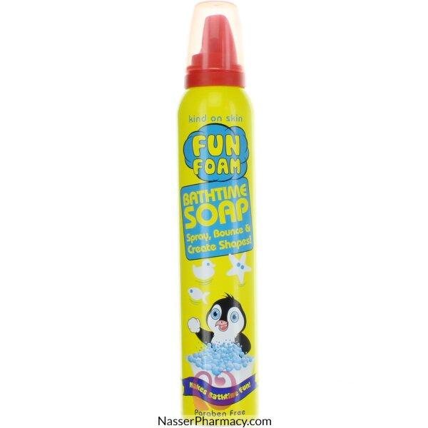 Kids Fun Soap Penguin Yellow 225ml-58725