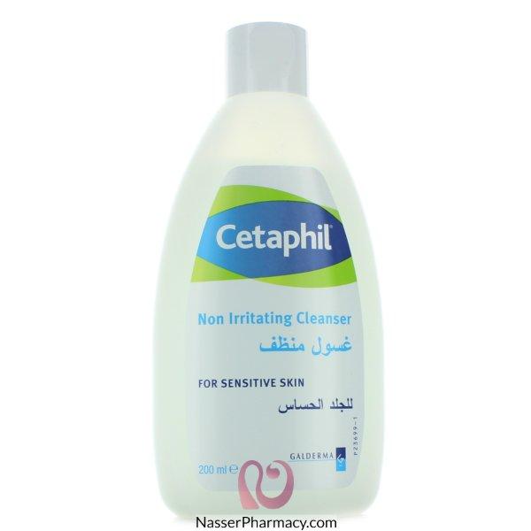 سيتافيل Cetaphilغسول للبشرة الحساسة بدون صابون - 200مل