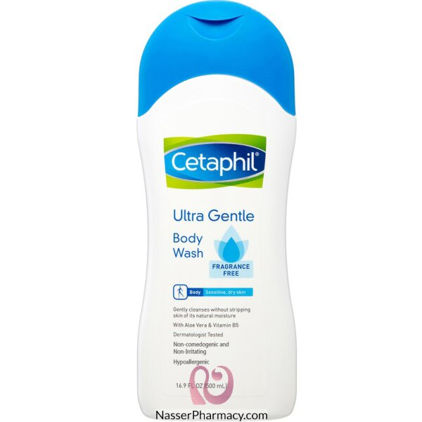 Cetaphil Body Wash Fragrance Free 500ml