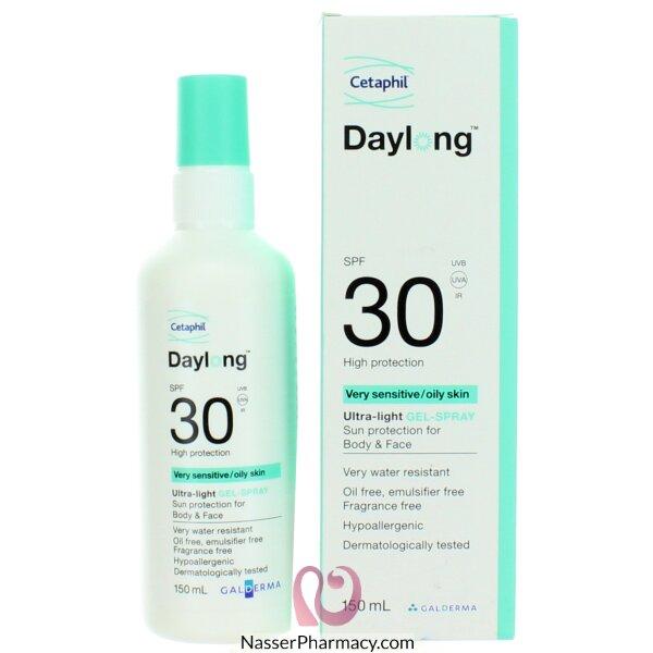 Cetaphil Daylong Spf30 Spray Gel 150 Ml