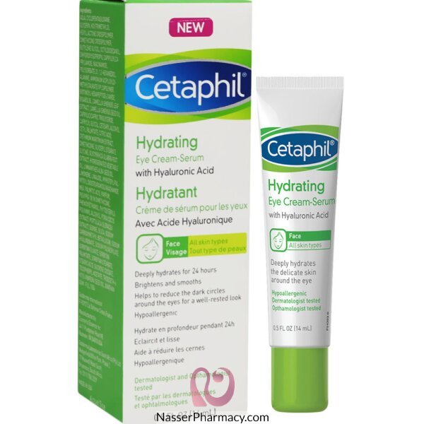 Cetaphil Hydrating Eye-cream Serum 14ml