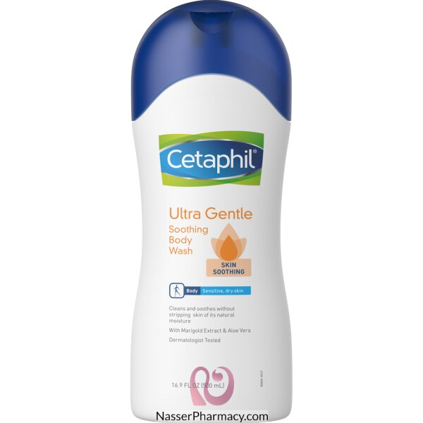Cetaphile Ultra Gentl Sooth Body Wash 500ml
