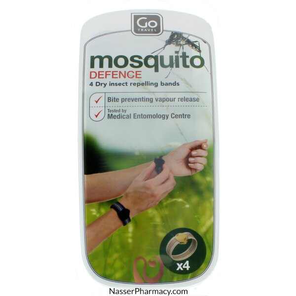 أسورة يد طاردة للحشرات عدد 4